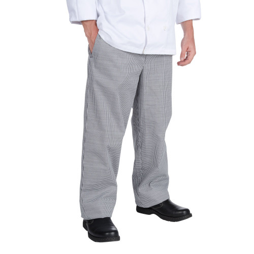 Chef Revival - Small Houndstooth Baggy Cook Pants - 30070