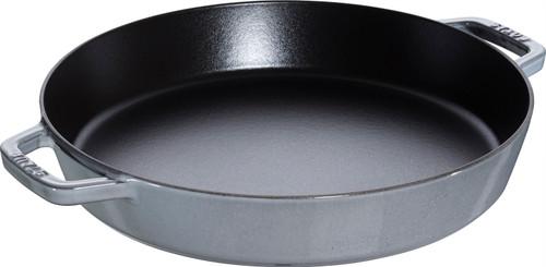 "Staub - 13"" (34cm) Grey Paella Pan"