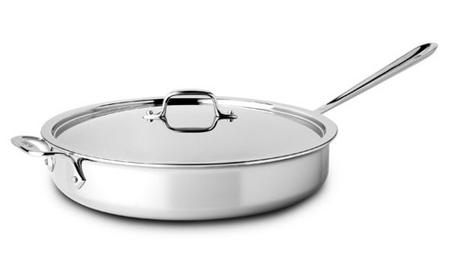 All-Clad - 6 QT Stainless Saute pan with Lid - 4406