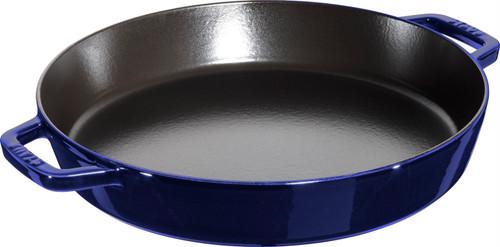 "Staub - 13"" (34cm) Dark Blue Paella Pan - 40511-517"