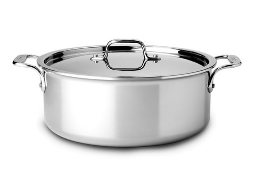 All-Clad - 6 QT Stainless Stock Pot with Lid - 4506