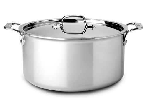 All-Clad - 8 QT Stainless Stock Pot with Lid