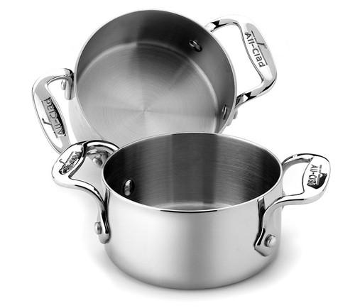 All-Clad - 2 Pc Stainless Steel Soup Ramekin Set - 59914