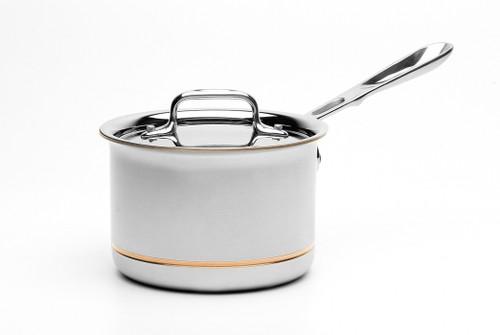 All-Clad - 2 QT Copper Core Saucepan - 6202 SS