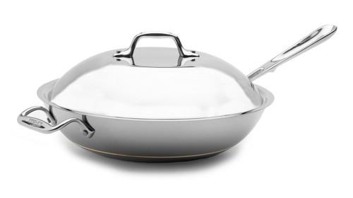 All-Clad - 4 QT Copper Core Chef's Pan