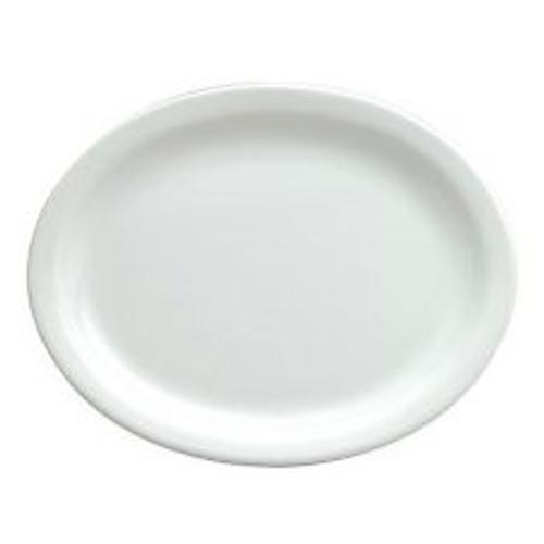 """World Tableware - Bright White Platter 9.75"""" - 840520N9"""