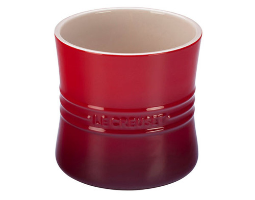 Le Creuset - 2.6 L (2.75 QT) Cherry Utensil Crock