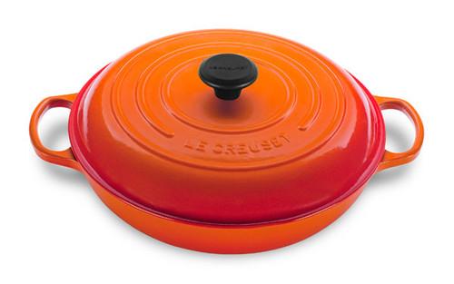 Le Creuset - 3.5 L (3.7 QT) Flame Braiser