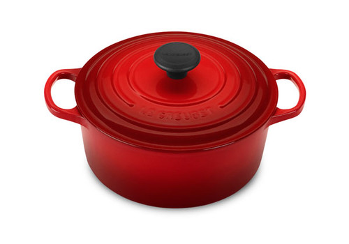 Le Creuset - 4.2 L (4.5 QT) Cherry French Round Dutch Oven