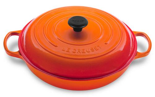 Le Creuset - 4.7 L (5 QT) Flame Braiser
