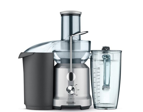 Breville - Juice Fountain Cold Juicer - BJE430SIL