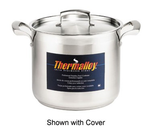 Thermalloy - 10QT Commercial Grade Stainless Stock Pot  - 5723910