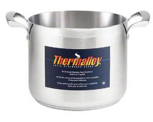 Thermalloy - 32QT Commercial Grade Stainless Stock Pot - 5723932