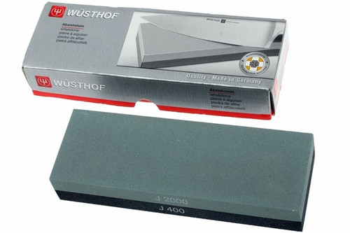 Wusthof -  400 / 2000 Grit Combination Whetstone  - 4450