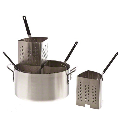 Thermalloy - Four Insert Aluminum Pasta Cooker - 5813318