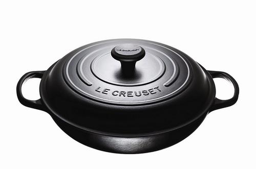 Le Creuset - 3.5 L (3.7 QT) Licorice Braiser