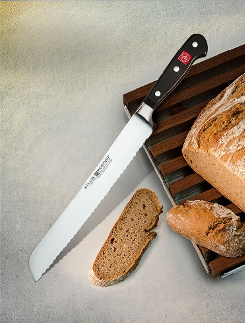 "Wusthof - 9"" Classic Double Serrated Bread Knife - 4152-23"