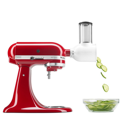 KitchenAid - Slicer & Shredder Pack Mixer Attachment - KSMVSA