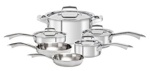Zwilling J.A. Henckels - TruClad, 10 Piece Cookware Set