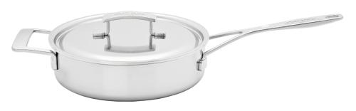 Demeyere - Industry 6 QT Low Saute Pan with Lid