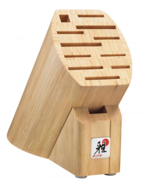 Miyabi - 12 Slot Light Bamboo Knife Block