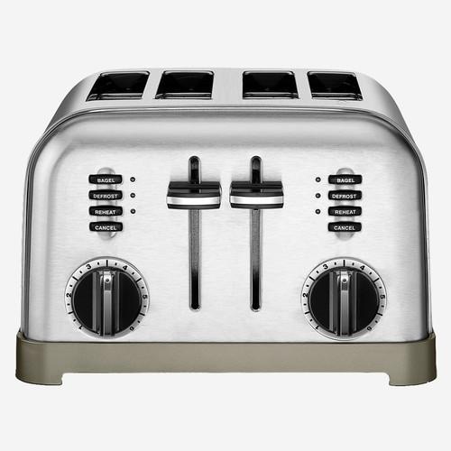 Cuisinart - Metal Classic 4-Slice Toaster - CPT180C