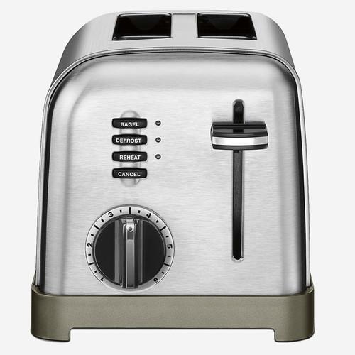 Cuisinart - Metal Classic 2 Slice Toaster
