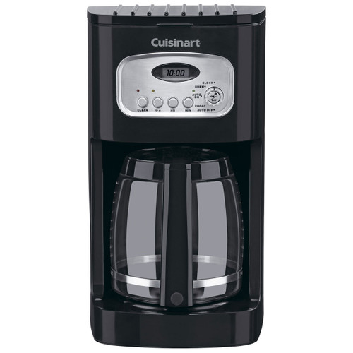Cuisinart - Black 12 Cup Classic Programmable Coffee Maker - DCC1100BKC