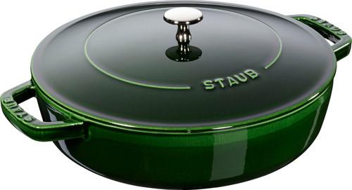 Staub - 2.4 L (2.5 QT) Basil Chistera Drop Braiser