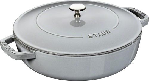 Staub - 3.8L (4 QT) Grey Chistera Drop Braiser