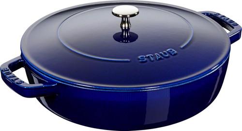 Staub - 3.8L (4 QT) Blue Chistera Drop Braiser