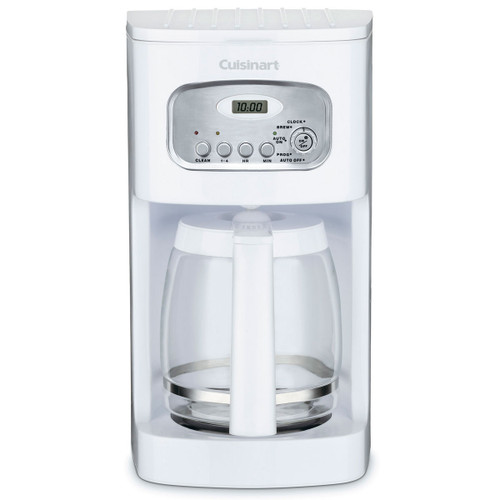 Cuisinart - White 12 Cup Classic Programmable Coffee Maker - DCC1100C