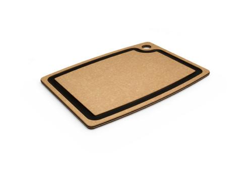 """Epicurean - 14.5"""" x 11.25"""" x 3/8"""" Natural/Slate Gourmet Series Cutting Board - 003-15110102"""