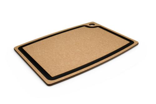 """Epicurean - 17.5"""" x 13"""" x 3/8"""" Natural/Slate Gourmet Series Cutting Board"""