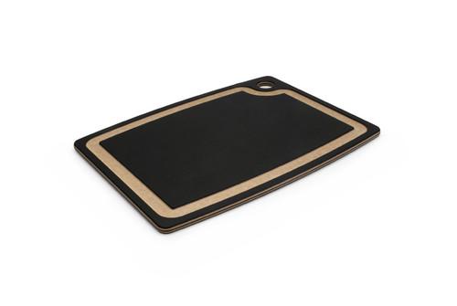 """Epicurean - 14.5"""" x 11.25"""" x 3/8"""" Slate/Natural Gourmet Series Cutting Board - 003-15110201"""