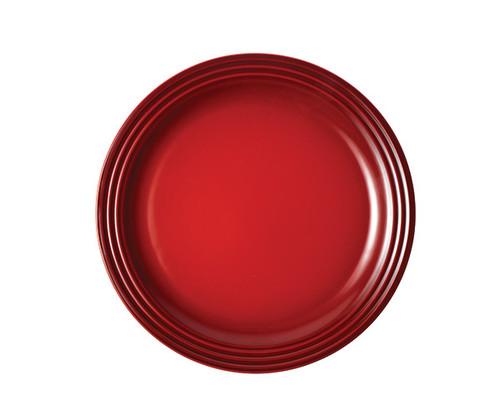 "Le Creuset - 10.5"" (27cm) Cherry Dinner Plates"