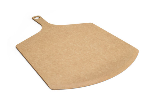 "Epicurean - 23"" x 14"" x 3/16"" Natural Pizza Peel - 007-231401"
