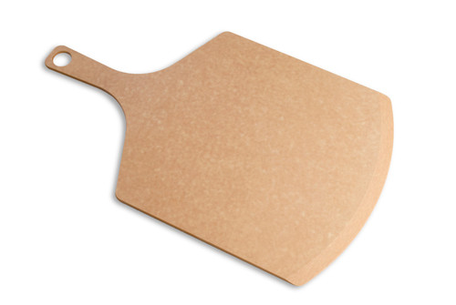 "Epicurean - 17"" x 10"" x 3/16"" Natural Pizza Peel - 007-171001"