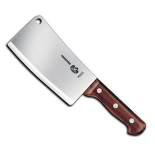 "Victorinox - 7"" x 3.5"" Cleaver with Rosewood Handle"