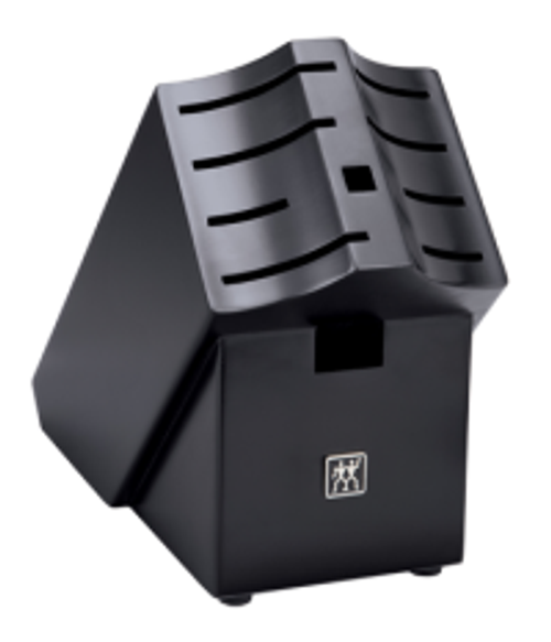 Zwilling J.A. Henckels - 10 Slot Black Convex Knife Block