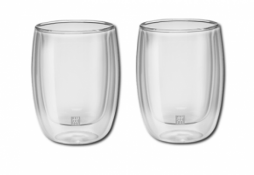 Zwilling J.A. Henckels - Sorrento Double Wall 200mL Cappuccino Glass Set