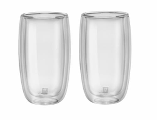 Zwilling J.A. Henckels - Sorrento Double Wall 350mL Latte Glass Set