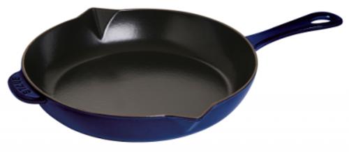 "Staub - 12"" / 30cm Blue Fry Pan - 40510-966"