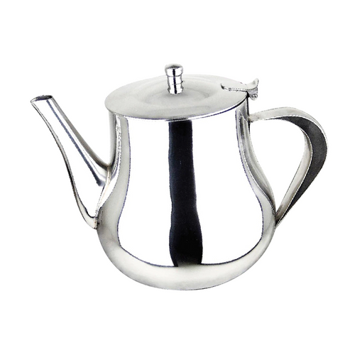 Orly Global - Stainless Steel Belly Shaped Teapot - TEA17R