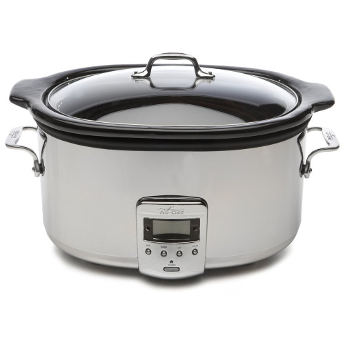 All Clad - 4 Qt Slow Cooker With Ceramic Insert - SD710851