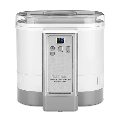 Cuisinart -  Electronic Yogurt Maker with Automatic Cooling - CYM100C