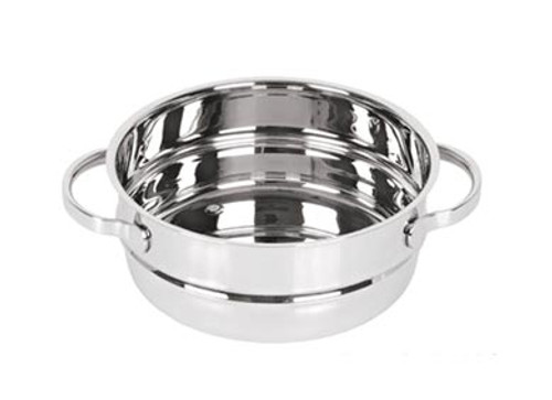 "Orly Global - Strauss 7"" x 3"" Double Boiler - JST18DB"