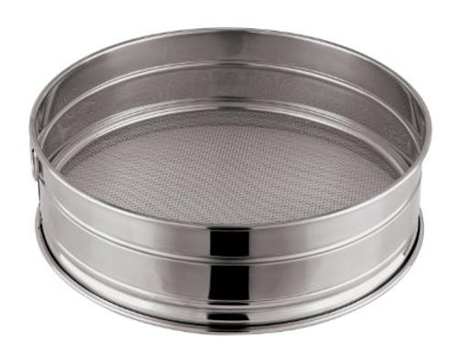 "WFE - 10"" Stainless Steel Flour Sieve - 3510"