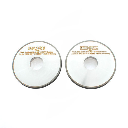 F. DICK - Set of 2 Replacement Diamond Honing Wheels - 98052047