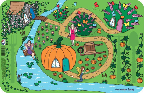 Constructive Eating - Garden Fairy Placemat - 42000